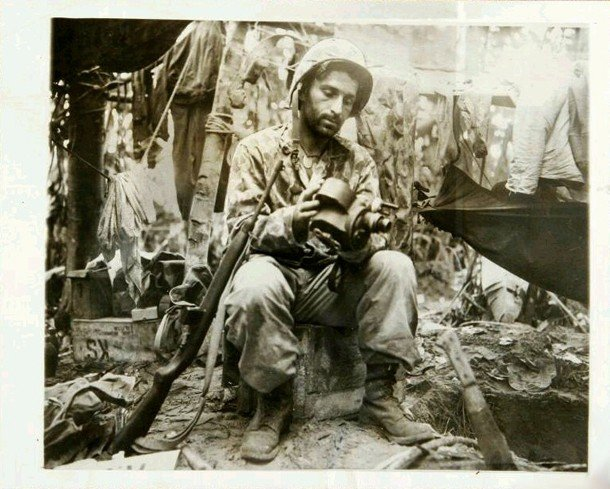 Marine Photographer Bougainville 1944 A
